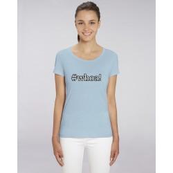 Cowgirl Shirt #whoa! - Sky Blue