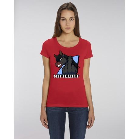 """Girl Shirt """"Mittelhuf Rappe"""""""