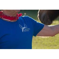 Cowboy Shirt Serenity Horses - Detail