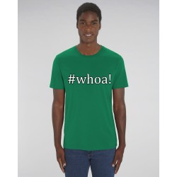 "Cowboy Shirt ""Whoa"" in Varsity Green"