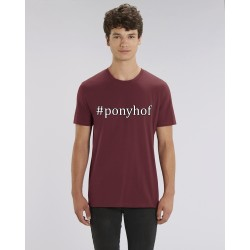 "Cowboy Shirt ""Ponyhof"" - in Burgundy"