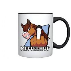 Mittelhuf-Tasse Jet